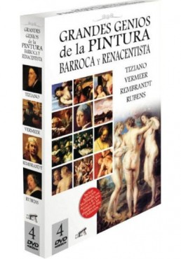 Pack Grandes Genios de la Pintura Barroca y Renacentista