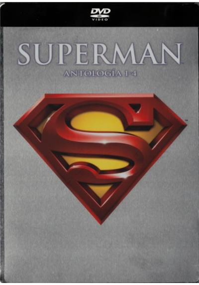 Superman (I+II+III+IV) - Pack 4 Discos Steelbook (Ed.Metalica)