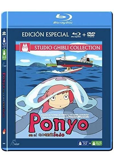 Ponyo En El Acantilado (Blu-Ray + Dvd) (Gake No Ue No Ponyo)
