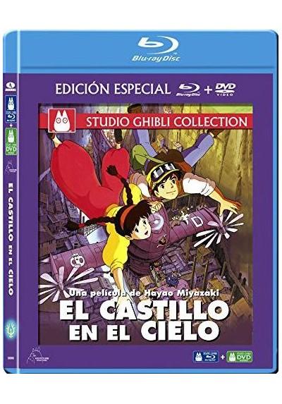 El Castillo En El Cielo (Blu-Ray + Dvd) (Tenkû No Shiro Rapyuta)