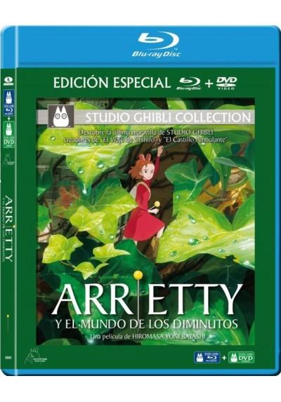 Arrietty Y El Mundo De Los Diminutos (Blu-Ray + Dvd) (Karigurashi No Arrietty - Yukashita No Kobito-Tachi)