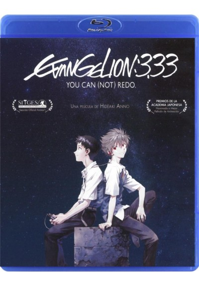 Evangelion 3.33 You Can (Not) Redo (Blu-Ray)