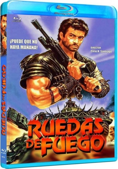 Ruedas De Fuego (1985) (Blu-Ray) (Bd-R) (Wheels Of Fire)