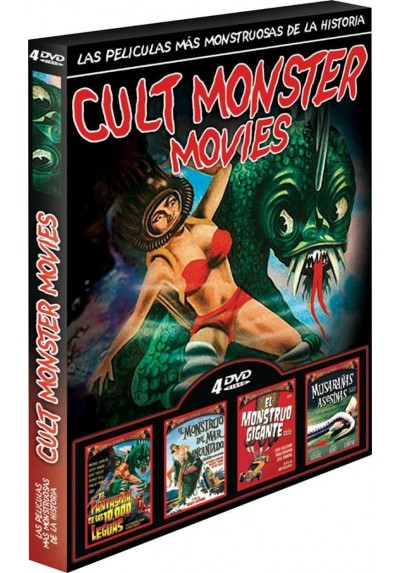 Pack Cult Monster Movies