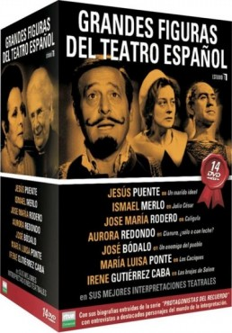 Pack Grandes Figuras del Teatro Español