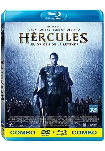 Hercules : El Origen De La Leyenda (Blu-Ray + Dvd) (The Legend Of Hercules)