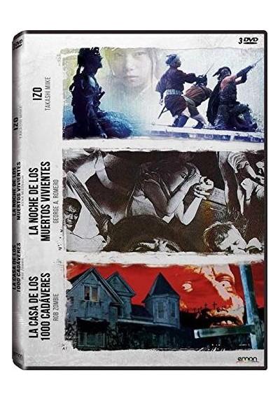 Pack: Zombie + Romero + Miike (Izo / La Noche De Los Muertos Vivientes / La Casa De Los 1000 Cadaveres)