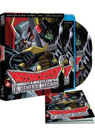Mazinkaiser : Combate A Muerte Contra El General Negro (Blu-Ray + Dvd + Extras + Libro) (Majinkaiza: Shitô! Ankoku Dai Shôgun)