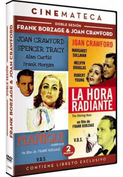 Doble Sesion : Frank Borzague & Joan Crawford (V.O.S.)