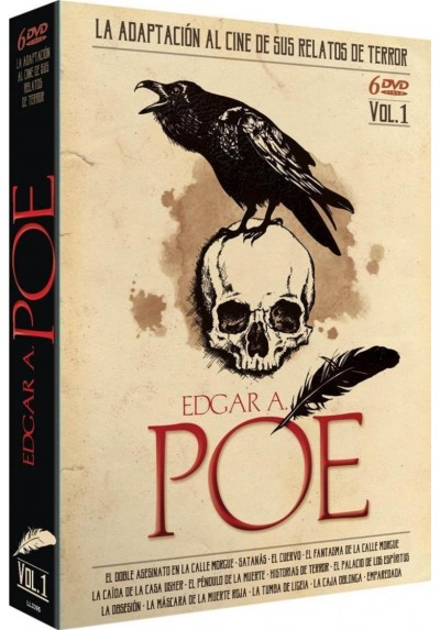Pack Edgar Allan Poe - Vol. 1