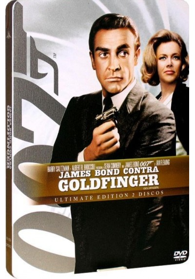James Bond Contra Goldfinger - Estuche Metálico
