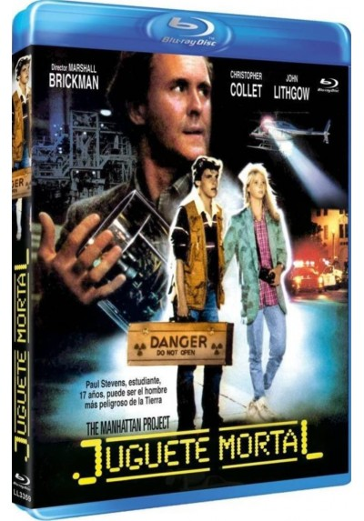 Juguete Mortal (Blu-Ray) (The Manhattan Project)