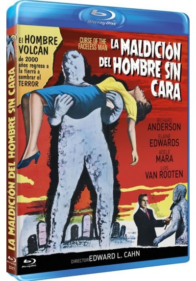 La Maldicion Del Hombre Sin Cara (Blu-Ray) (Curse Of The Faceless Man)