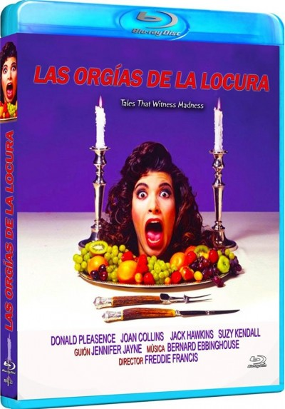 Las Orgias De La Locura (Tales That Witness Madness) (Blu-Ray) (Bd-R)