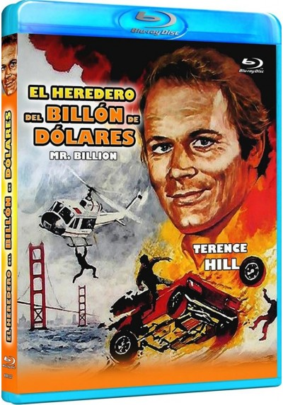 El Heredero Del Billon De Dolares (Mr. Billion) (Blu-Ray) (Bd-R)