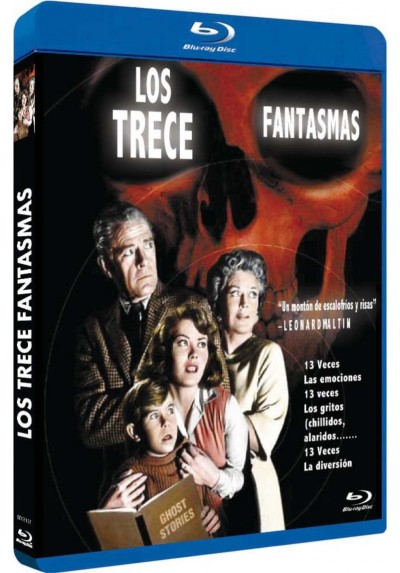 Los Trece Fantasmas (1960) (Blu-Ray) (13 Ghosts)