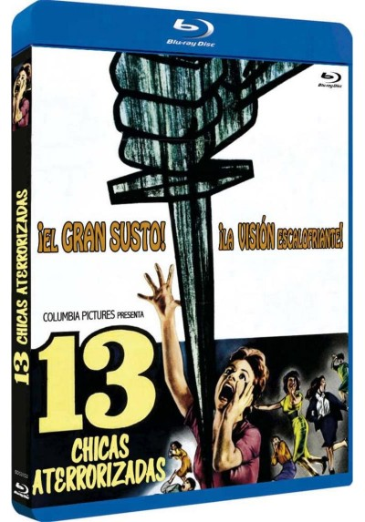 13 Chicas Aterrorizadas (Blu-Ray) (13 Frightened Girls)