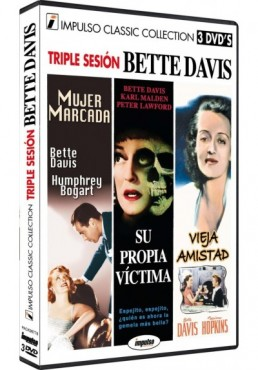 Triple Sesion Bette Davis (Dvd-R)
