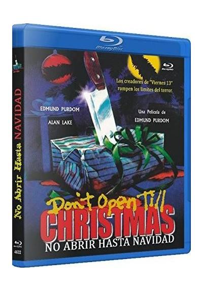 No Abrir Hasta Navidad (Blu-Ray) (Don´t Open Til Christmas)