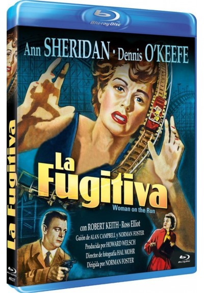 La Fugitiva (Blu-Ray) (Woman On The Run)