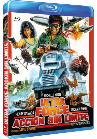 Ultra Force : Accion Sin Limite (Blu-Ray) (Wong Ga Jin Si)