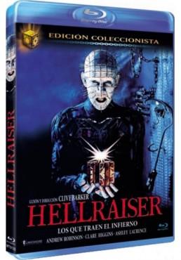 Hellraiser : Los Que Traen El Infierno (Ed. Coleccionista) (Blu-Ray) (Hellraiser)