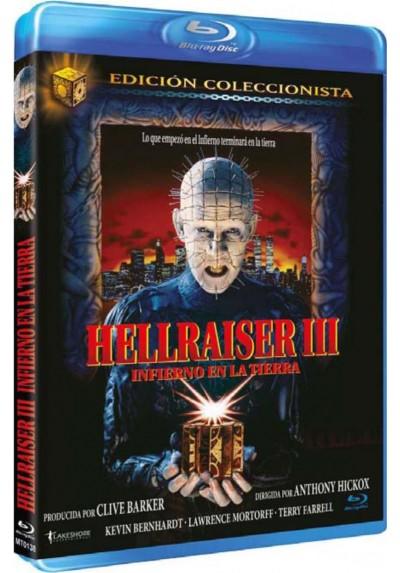 Hellraiser III : Infierno En La Tierra (Ed. Coleccionista) (Blu-Ray) (Hellraiser III : Hell On Earth)