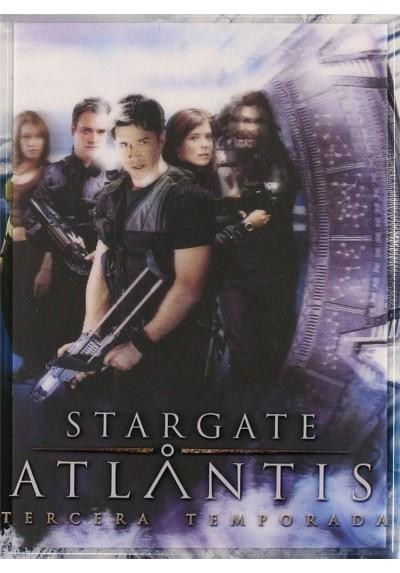 Stargate Atlatis: Tercera Temporada (Portada con Holograma)