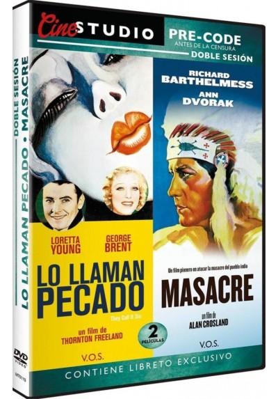 Pack Lo Llaman Pecado / Masacre (V.O.S.)