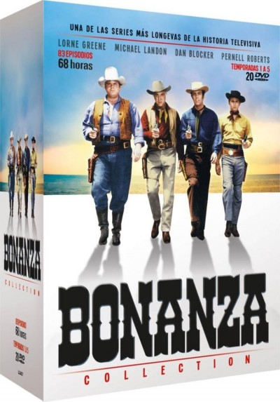 Bonanza Collection - Temporadas 1 a 5