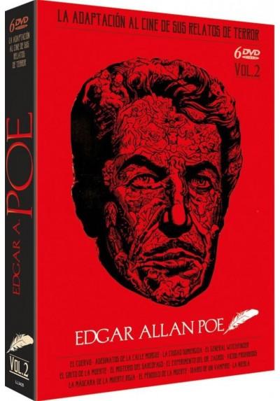 Pack Edgar Allan Poe: La Adaptacion al Cine de sus Relatos de Terror - Vol 2