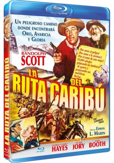 La ruta del Caribu (Blu-Ray) (The Caribu Trail)