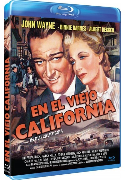 En el Viejo California (Blu-Ray) (In Old California)