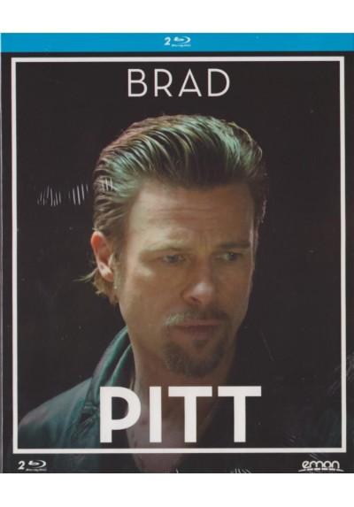 Pack Brad Pitt: 12 Años De Esclavitud / Matalos Suavemente (Blu-Ray)