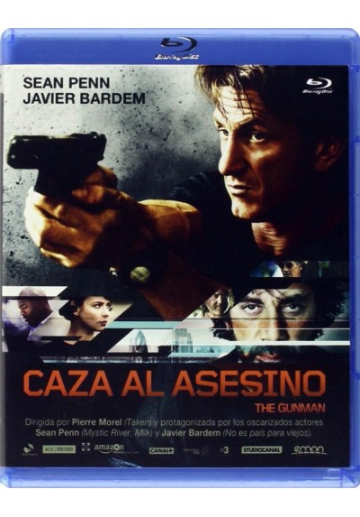 Caza Al Asesino (2015) (Blu-Ray) (The Gunman)