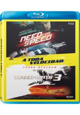 A Toda Velocidad : Need For Speed / Transporter 3 (Blu-Ray)