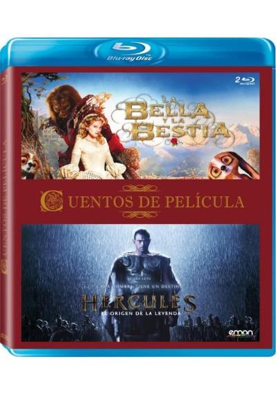 Cuentos De Pelicula : La Bella Y La Bestia (2014) / Hercules : El Origen De La Leyenda (Blu-Ray)