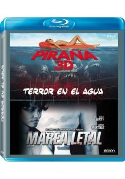 Terror En El Agua : Piraña 3d / Marea Letal (Blu-Ray)