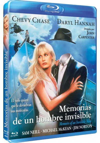 Memorias De Un Hombre Invisible (Blu-Ray) (Memoirs Of An Invisible Man)
