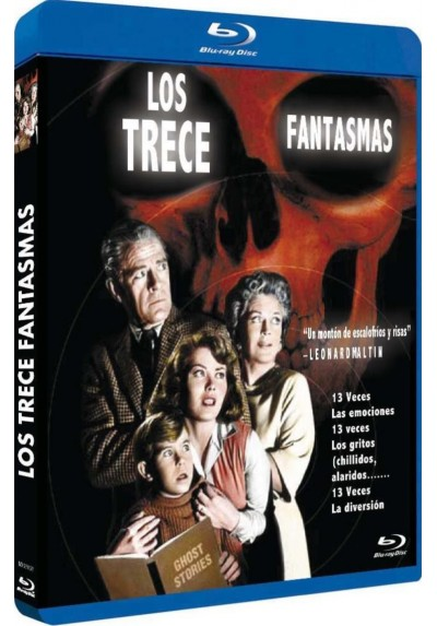 Los 13 Fantasmas - 1960 (Blu-Ray) (Bd-R) (13 Ghosts)