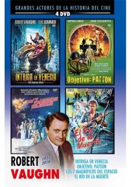 Pack Robert Vaughn: Intriga En Venecia / Objetivo: Patton / Los 7 Magníficos Del Espacio / El Río De La Muerte