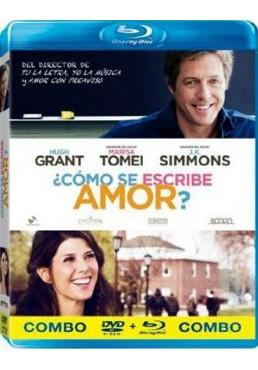 Como Se Escribe Amor? (Blu-Ray + Dvd) (The Rewrite)