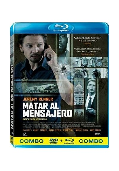 Matar Al Mensajero (Blu-Ray + Dvd) (Kill The Messenger)