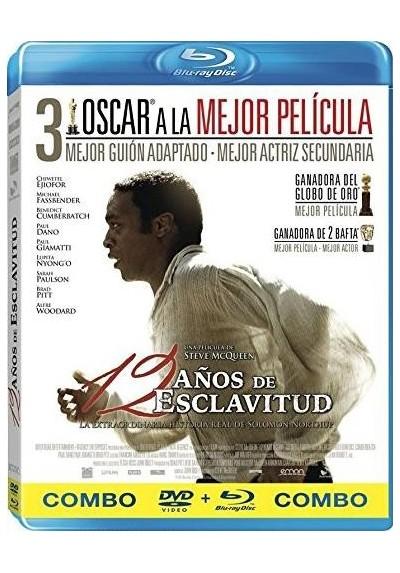 12 Años De Esclavitud (Blu-Ray + Dvd) (12 Years A Slave)