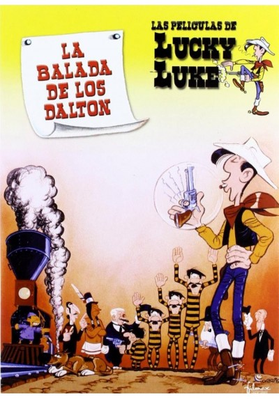 Lucky Luke: La Balada De Los Dalton (Lucky Luke: The Ballad Of The Dalton)