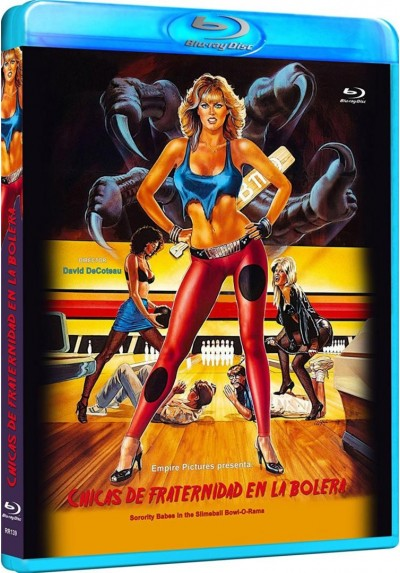 Chicas De Fraternidad En La Bolera (Sorority Babes In The Slimeball Bowl-O-Rama) (Blu-Ray) (Bd-R)