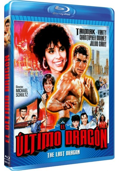 El Ultimo Dragon (Blu-Ray) (Bd-R) (The Last Dragon)