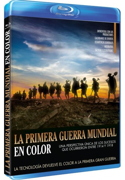 La Primera Guerra Mundial En Color (Blu-Ray) (World War 1 In Colour)