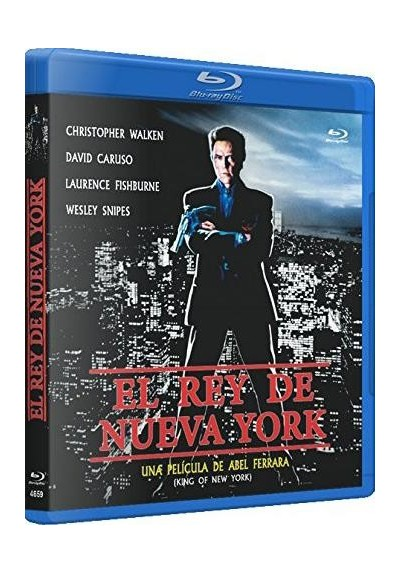 El Rey De Nueva York (Blu-Ray) (King Of New York)