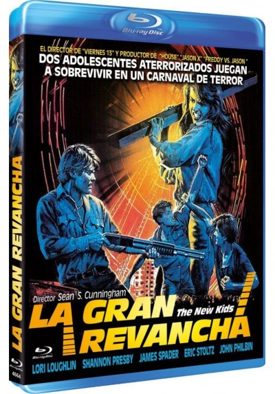 La Gran Revancha (1985) (Blu-Ray) (The New Kids)
